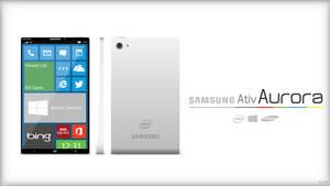 Samsung Ativ Aurora Smartphone Concept by Tecior