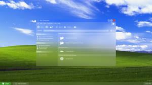 Windows XP in Glass by Tecior