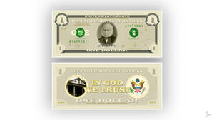 2020 United States Note Concept by Tecior
