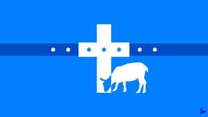 Flag of the Kingdom of Christ by Tecior