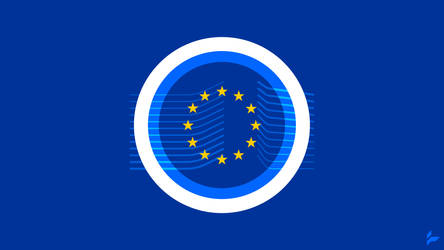European Commission Flag Concept by Tecior