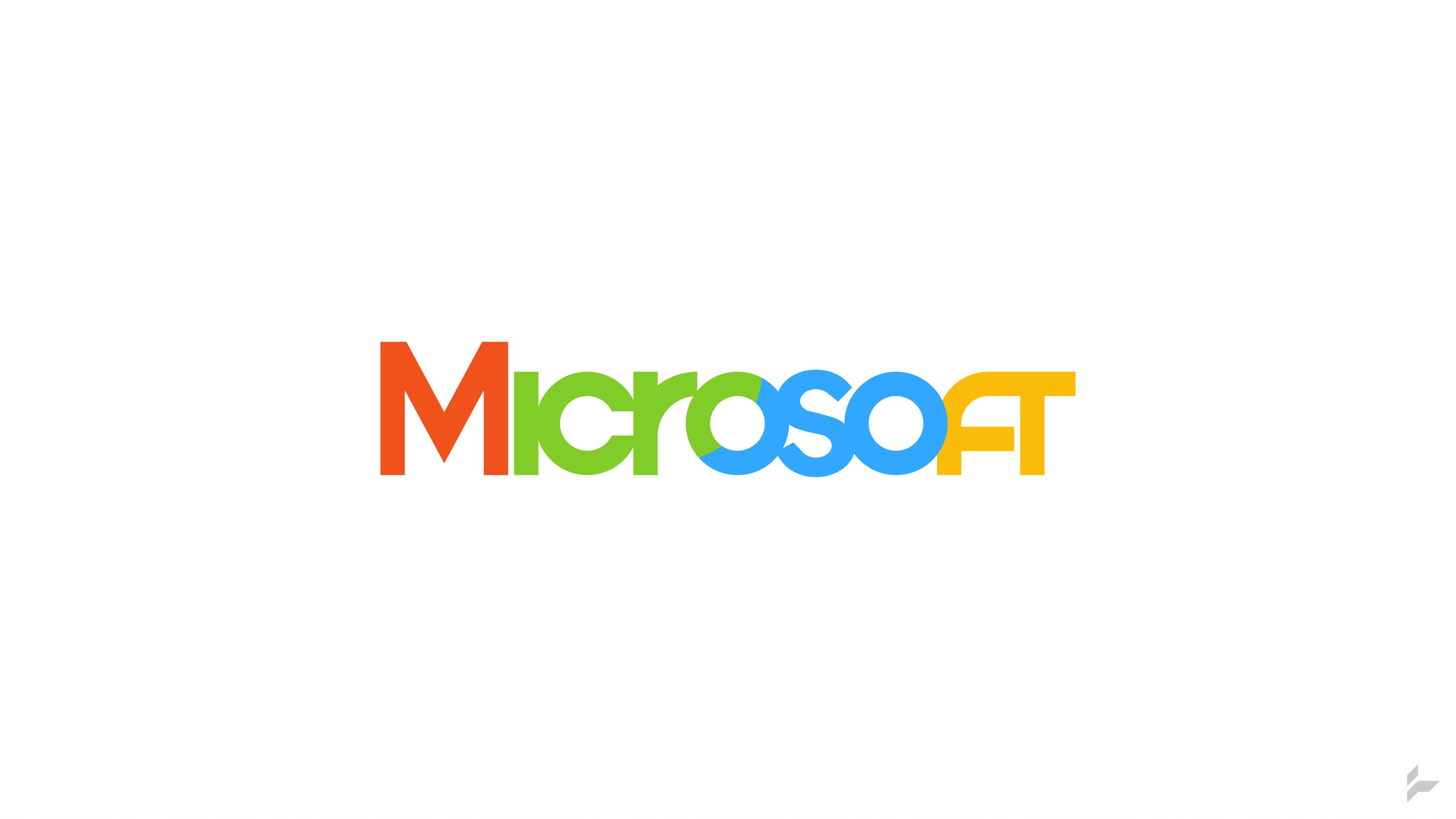 Microsoft Logo Concept (Version 2) by Tecior