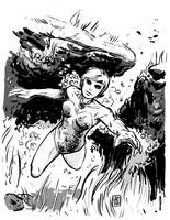 Alpha Flight's Marrina by JasonCopland