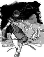 Elektra Again by JasonCopland