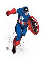 Captain America 3 by JasonCopland