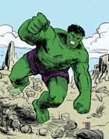 The Hulk by JasonCopland