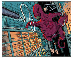Daredevil Dino by JasonCopland