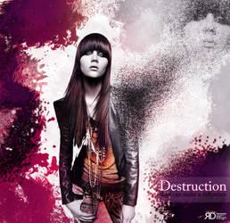 Destruction Woman by Rohunico