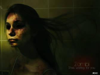 Zombi Woman by Rohunico