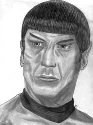 Spocko! - Leonard Nimoy by VulcanTrekkie