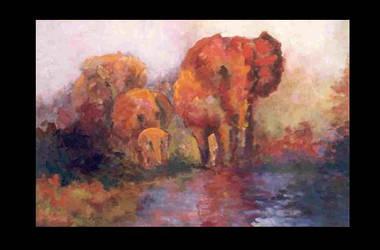 Elephants in Africa by barandiaran