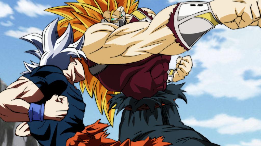 Goku Ssj4 Vs Goku Ssj3: MUI Goku Vs SSJ3 Cumber [Naotoshi Shida] By MohaSetif On