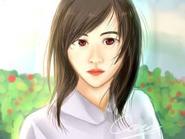 Japanese Girl by CorenB
