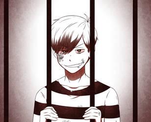 behind bars by ShadowofWolf200