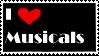 Musicals stamp by BlindEyeball