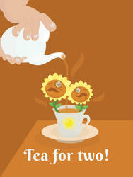 Plants vs Zombies - Tea for two! by MrMaxstache