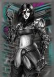 Glory - Shadowrun: Dragonfall fanart by Akadio
