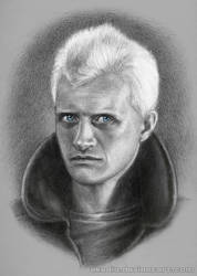 Rutger Hauer as Roy Batty (Blade Runner 1982) by Akadio