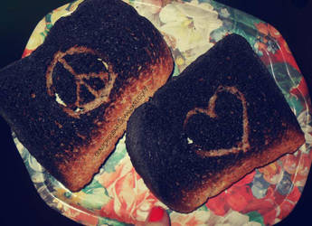 Burnt Toast by glamorousart