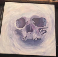 Abstract Skull by QueenHeatherRS
