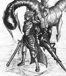 Dragon warrior by siegurn