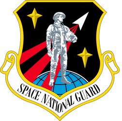 Space National Guard Patch by YNot1989