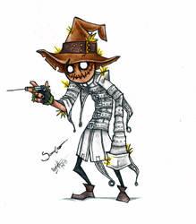 Scarecrow.. by Weiz-Crane