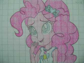 Pinkie Pie's CUTE face (with colours!) by NintenCano