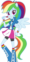 |Rainbow Dash EQG| by aqua-pony