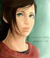 The Last of Us: Ellie by chi-tokiyo