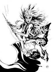 Incan Vampire Slayer by Dragonbaze