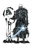 The Jedi Knights - no. 2: Anakin Skywalker by Dragonbaze