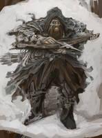 Koom the postman and hobbyist bounty hunter by Dragonbaze