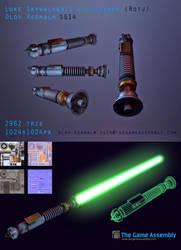 Luke Skywalker's Lightsaber (RotJ) by Dragonbaze