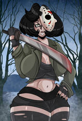 Horror Night: Jason Voorhees by Sonson-Sensei