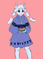 Bonnie sketch by Mazy-Cloud