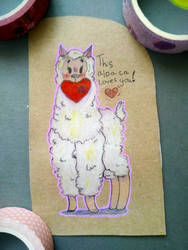 Valentine card that I made for no reason by Mazy-Cloud