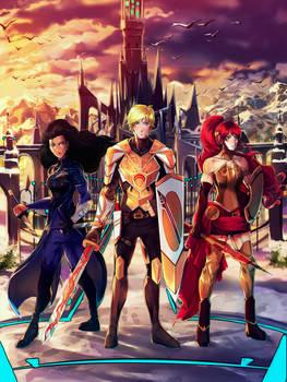 Heroes of Beacon by PricklyAlpaca