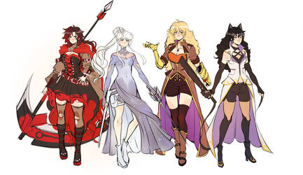 older rwby by PricklyAlpaca