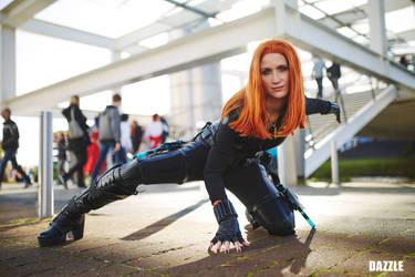 Black Widow CAWS cosplay  by ShryeCosplay