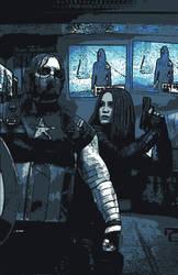#winterwidow Wintercap and Black Widow by ShryeCosplay