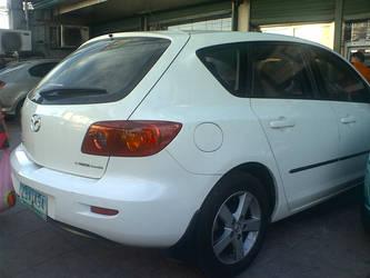 Mazda3 hatch rear by MazdaTiger