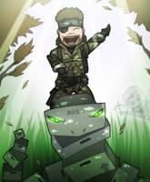 Metal Gear 3.5 - Snake Rider by Kain-Moerder