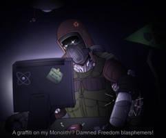 Blasphemers! by Kain-Moerder