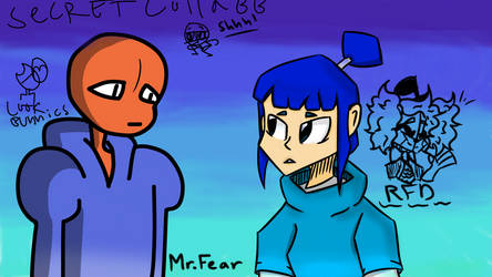 lil drawing with a friendo (Pt 2) by RandomFNAFDeves