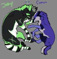 :Jakyl+Comet:Couple Lines: by NightmareAdoptables
