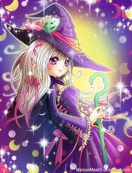 witch by maroonmasks
