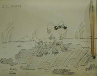Muddy by amgrim