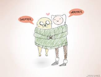 Sweater Weather by JarteStarr