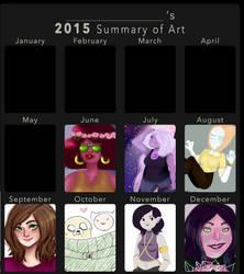 2015 Art Summary by JarteStarr